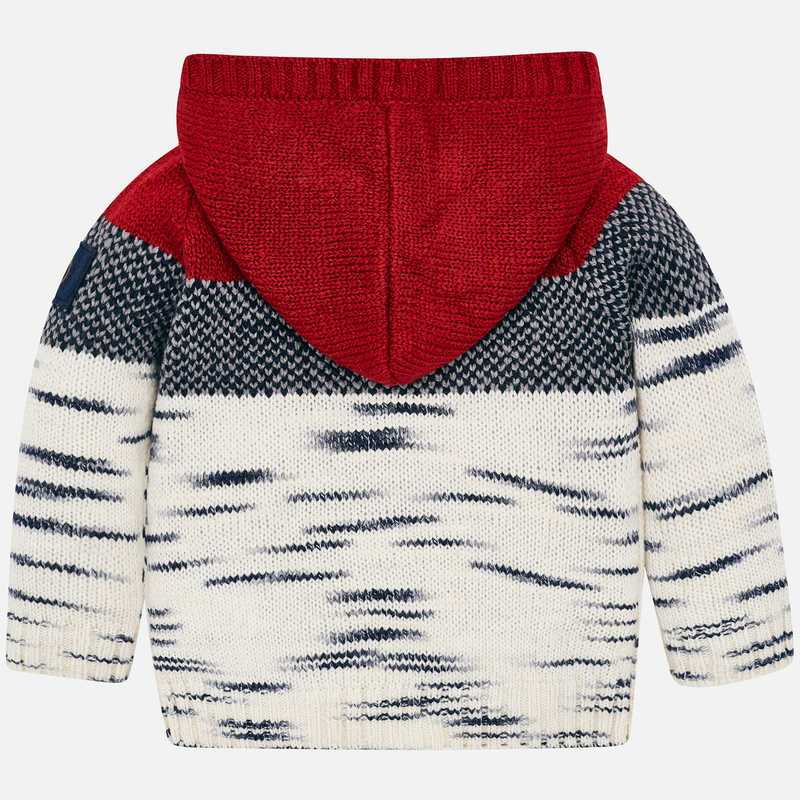MAYORAL BOYS HOODED SWEATER