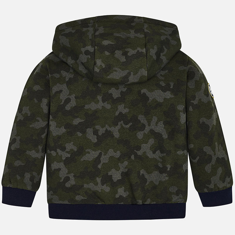 MAYORAL BOYS CAMO HOODED SWEATSHIRT