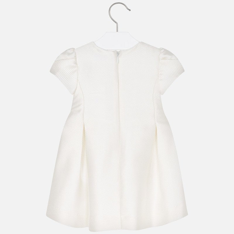 MAYORAL GIRLS PLEATED BOW DRESS