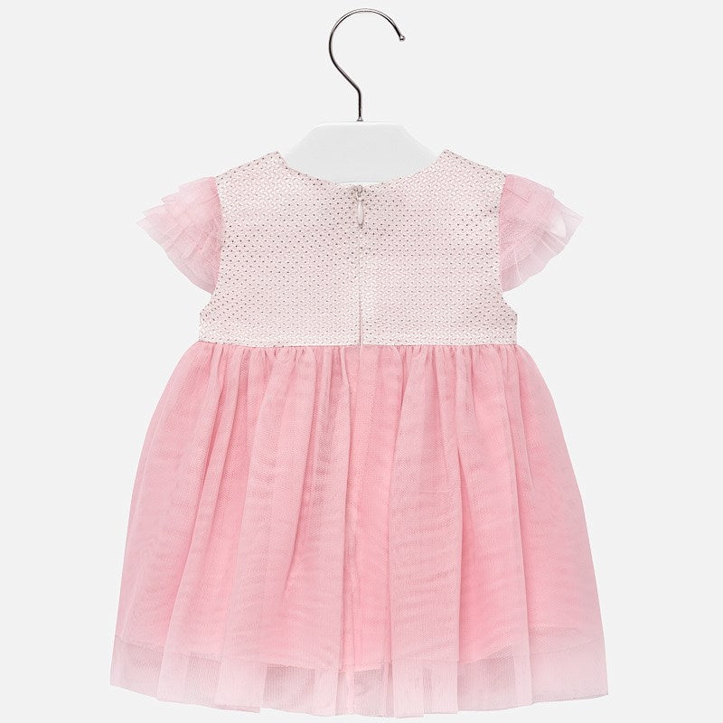 MAYORAL BABY GIRL FLARED TULLE DRESS-FINAL SALE
