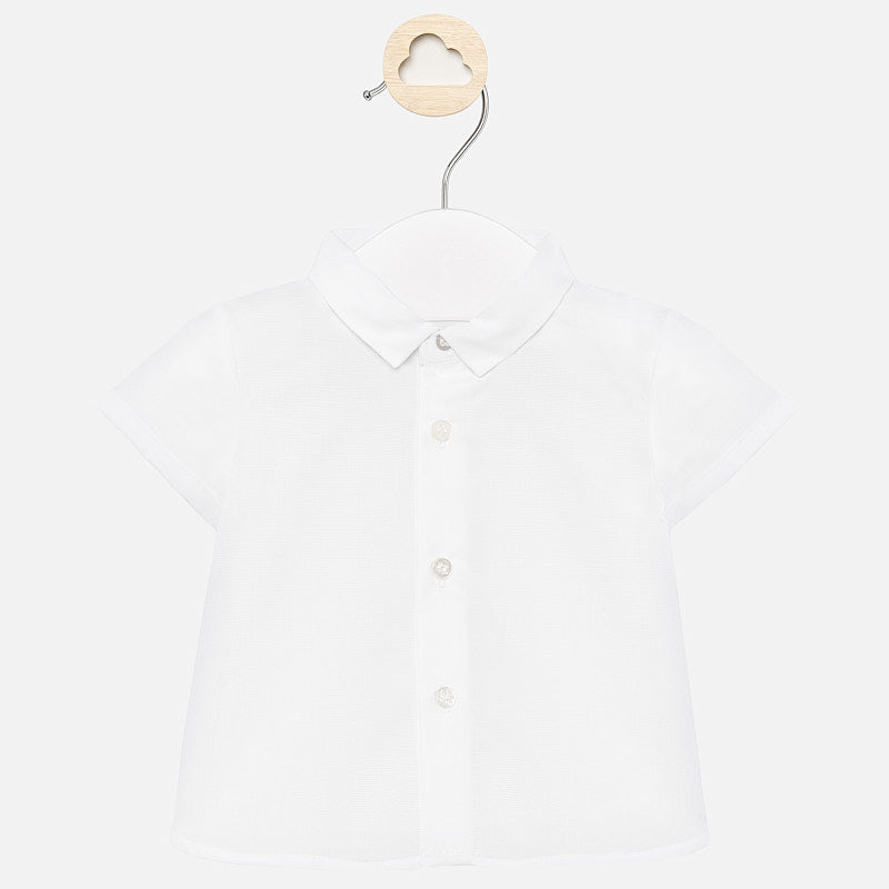 MAYORAL BABY BOY SHORT SLEEVE DRESS SHIRT