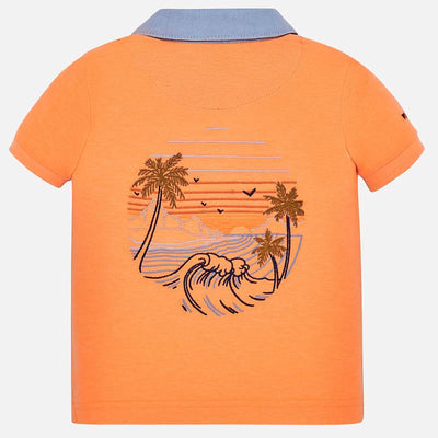 MAYORAL BABY BOYS SHORT SLEEVE POLO