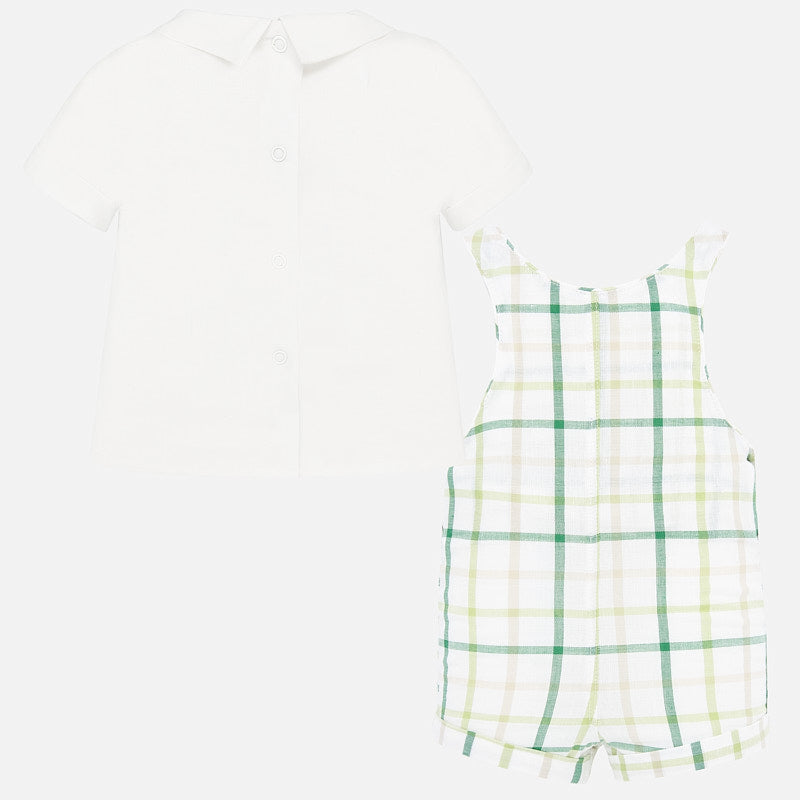 MAYORAL BABY BOYS OVERALL SET