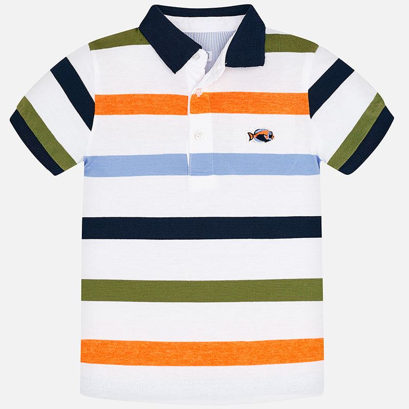 MAYORAL BOYS STRIPED POLO