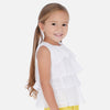 MAYORAL GIRLS RUFFLED TANK BLOUSE