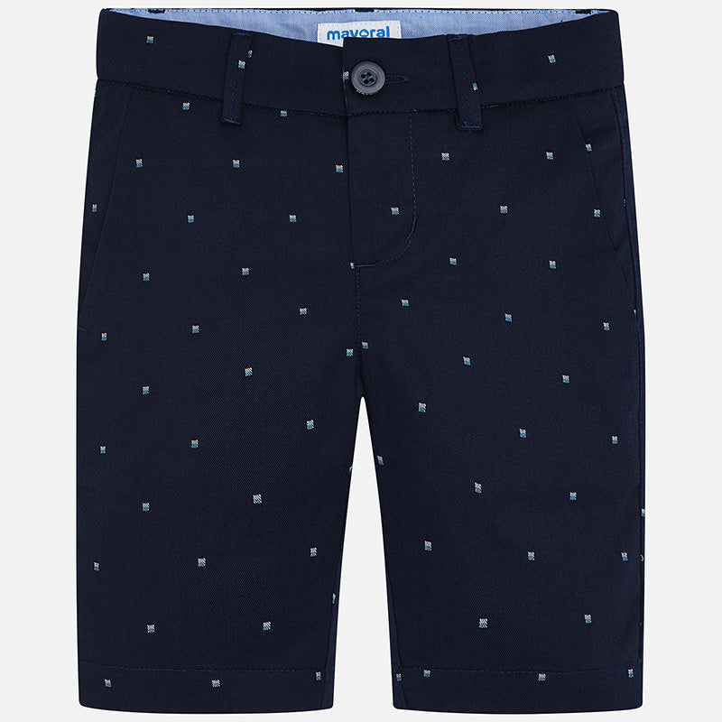 MAYORAL BOYS PATTERNED TWILL SHORTS