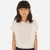 MAYORAL TWEEN GIRLS RUFFLE BLOUSE