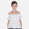 MAYORAL TWEEN RUFFLED BLOUSE