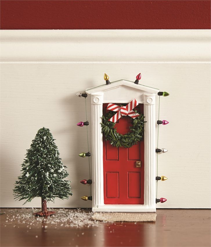 Mud Pie, MUD PIE ELF DOOR - James & Olive