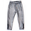 Kapital K, KAPITAL K SILVER METALLIC LEGGING - James & Olive