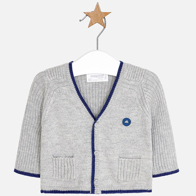 Mayoral, MAYORAL BABY BOYS V NECK CARDIGAN - James & Olive