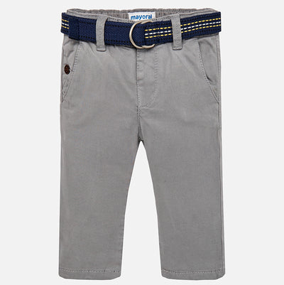Mayoral, MAYORAL BABY BOY CHINOS WITH BELT - James & Olive