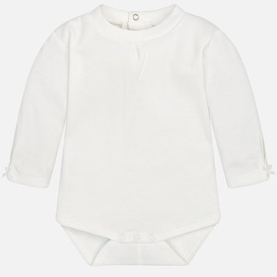 Mayoral, MAYORAL BABY GIRLS MOCK NECK BODYSUIT - James & Olive