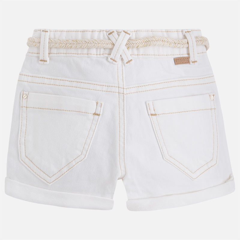 Mayoral, MAYORAL GIRLS SHORTS WITH ROLLED HEM - James & Olive