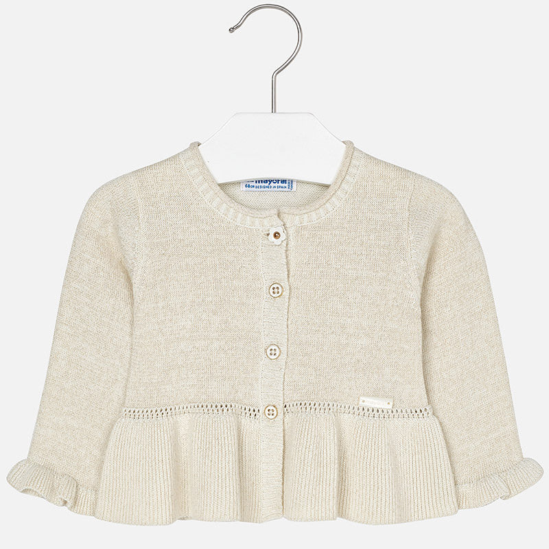 Mayoral, MAYORAL BABY GIRL KNIT CARDIGAN - James & Olive