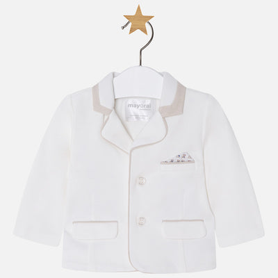 Mayoral, MAYORAL BABY BOYS DRESS KNIT JACKET - James & Olive