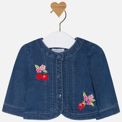 Mayoral, MAYORAL BABY GIRL DENIM JACKET - James & Olive