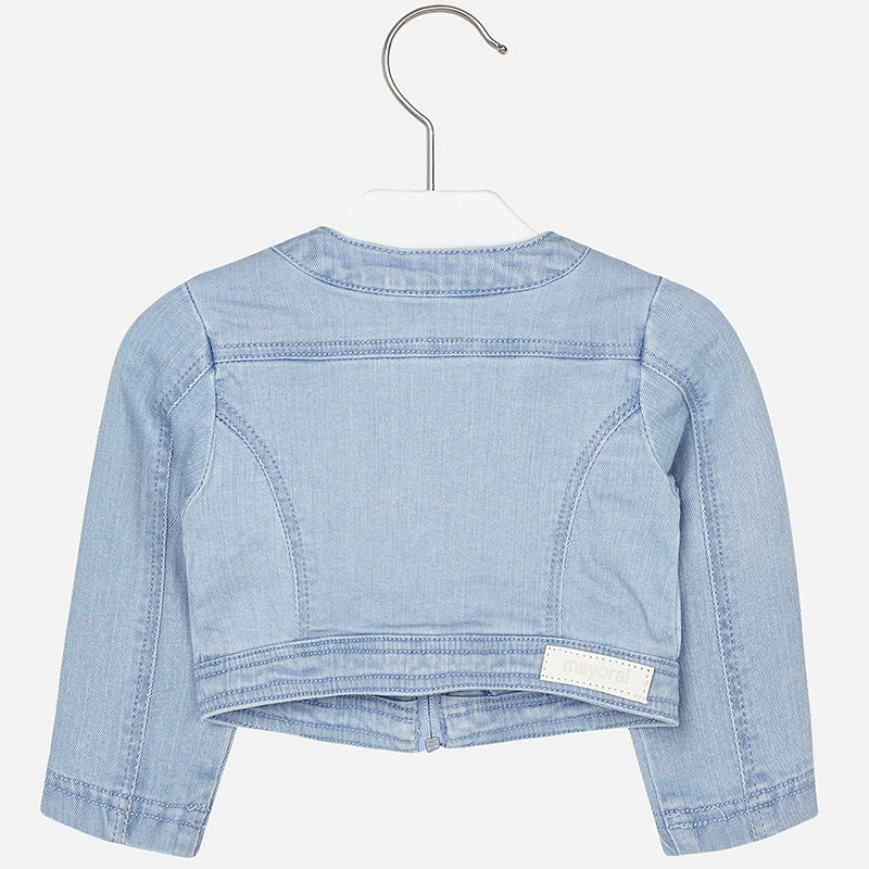 Mayoral, MAYORAL BABY GIRLS SHORT DENIM JACKET - James & Olive