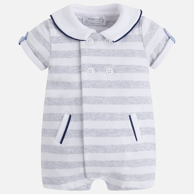 MAYORAL BABY BOYS STRIPED ONESIE