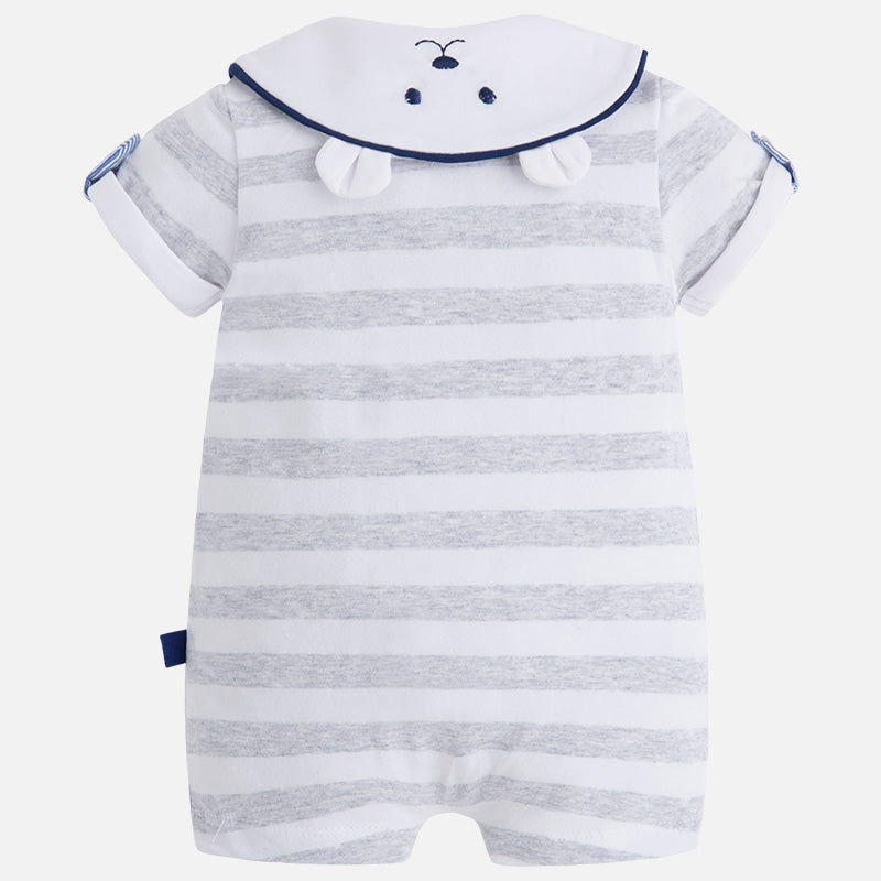 Mayoral, MAYORAL BABY BOYS STRIPED ONESIE - James & Olive