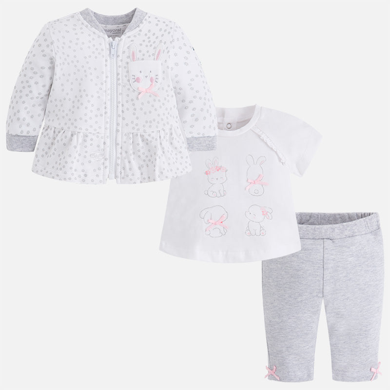 Mayoral, MAYORAL BABY GIRLS 3 PIECE SET - James & Olive