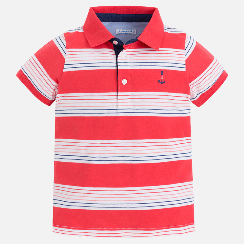 Mayoral, MAYORAL BOYS STRIPED POLO - James & Olive