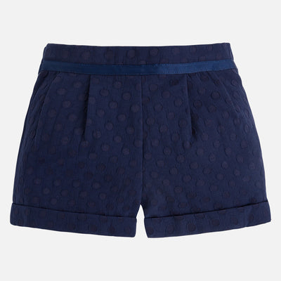 Mayoral, MAYORAL GIRLS JACQUARD SHORTS - James & Olive