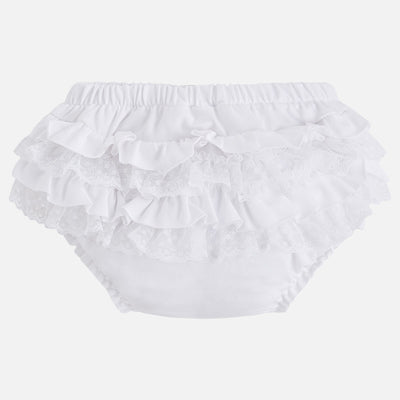 Mayoral, MAYORAL BABY GIRL RUFFLED BLOOMERS - James & Olive