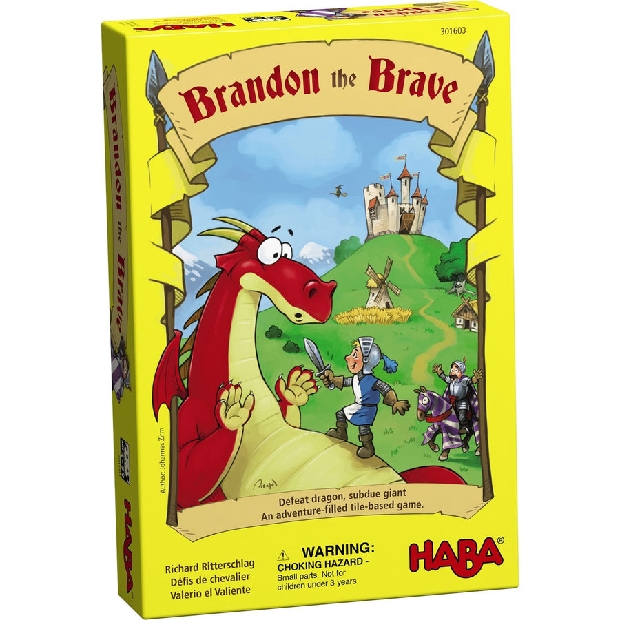 Haba, HABA BRANDON THE BRAVE GAME - James & Olive