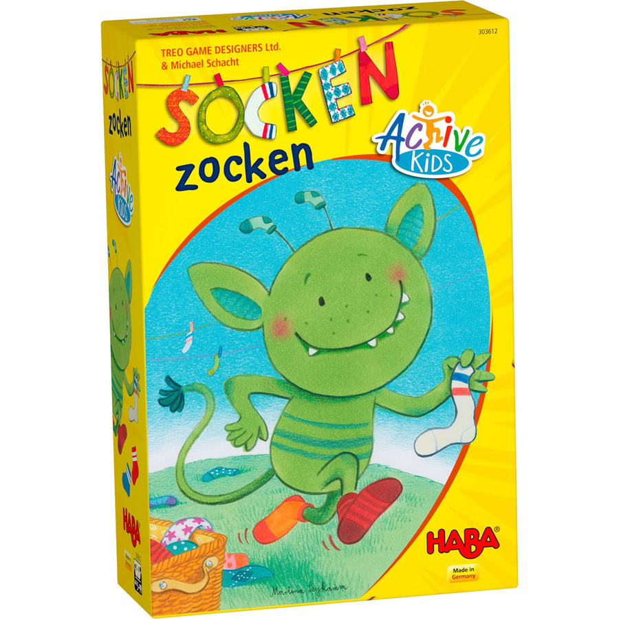 Haba, HABA SOCKEN ZOCKEN GAME - James & Olive