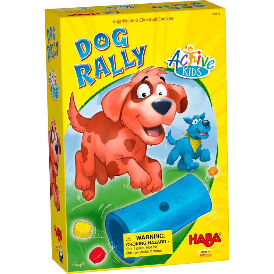 Haba, HABA DOG RALLY GAME - James & Olive