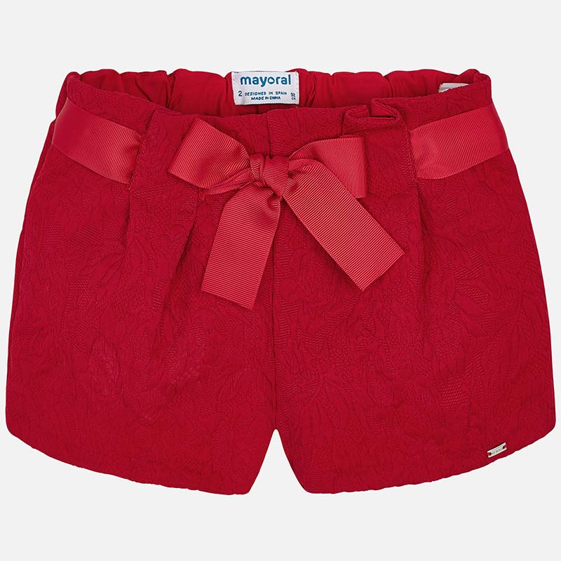MAYORAL GIRLS JACQUARD SHORTS