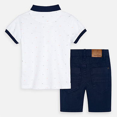 MAYORAL BOYS 2-PIECE SHORT SET