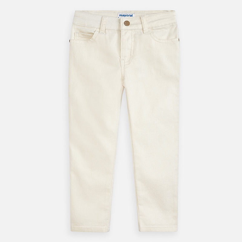 MAYORAL GIRLS SLIM FIT SHIMMER PANTS