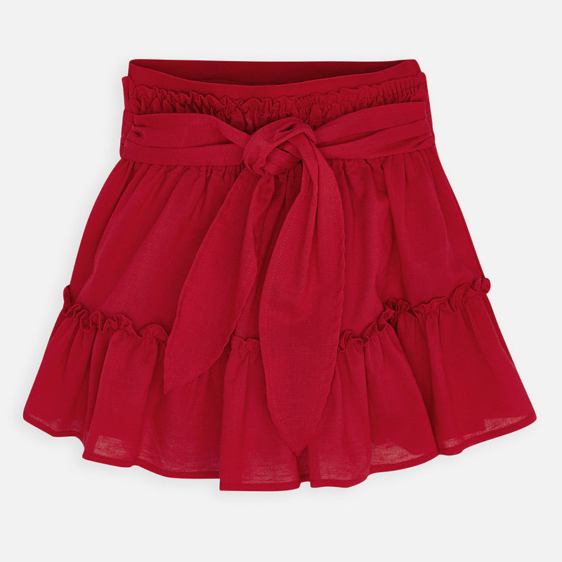MAYORAL GIRLS RUFFLED SKIRT
