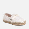 MAYORAL GIRLS BOW ESPADRILLE SHOES