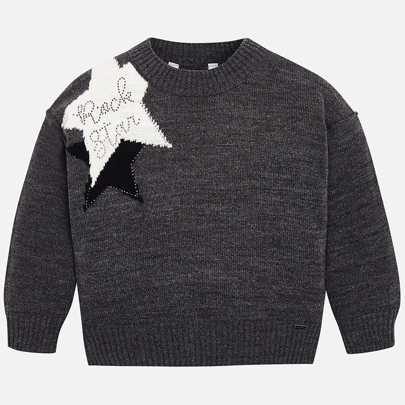 Mayoral, MAYORAL GIRLS ROCK STAR SWEATER - James & Olive