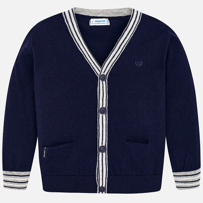Mayoral, MAYORAL BOYS BUTTON UP CARDIGAN - James & Olive