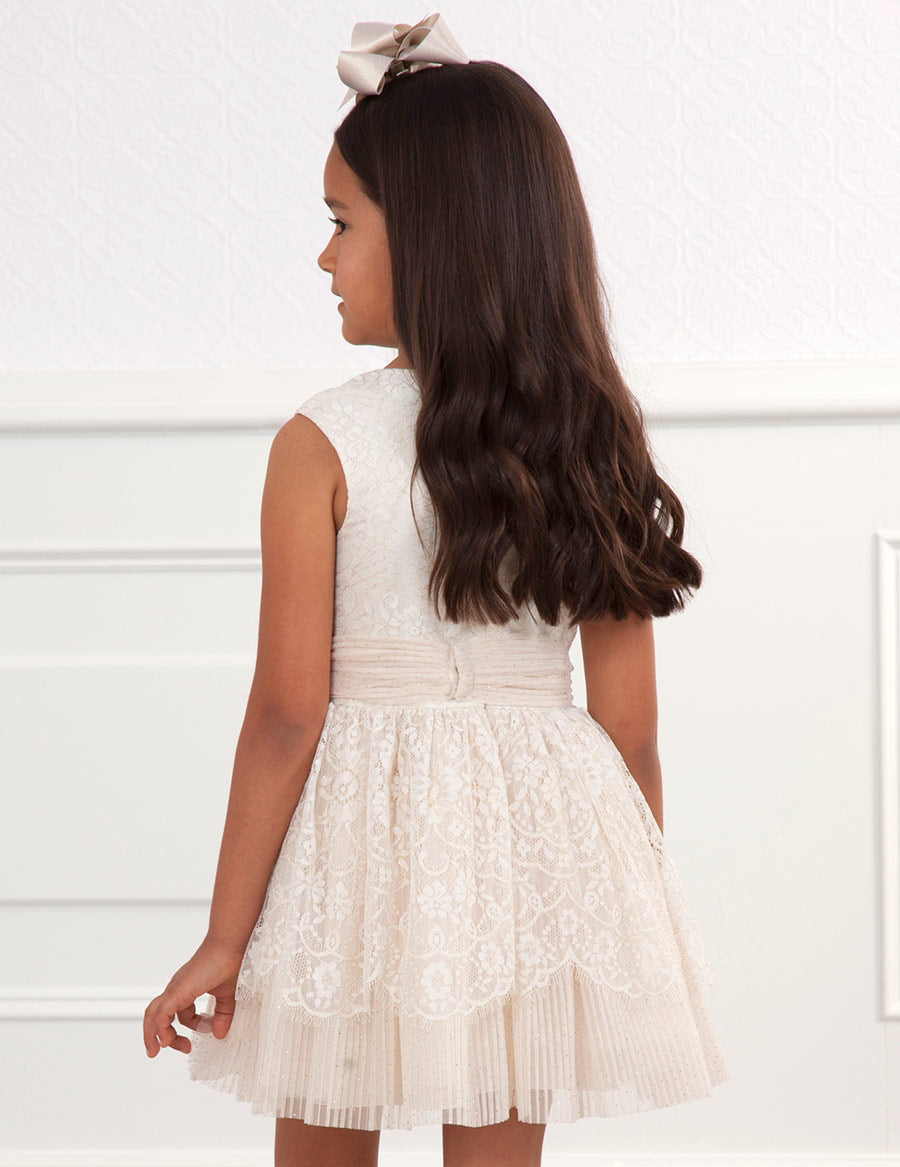 ABEL & LULA GIRLS LACE DRESS