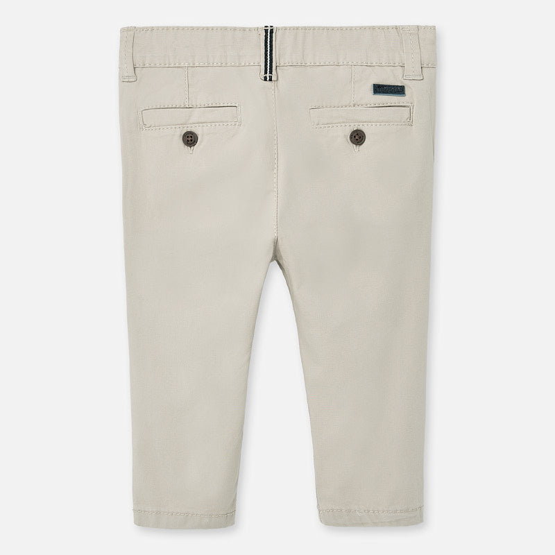 MAYORAL BABY BOY BASIC TWILL PANTS