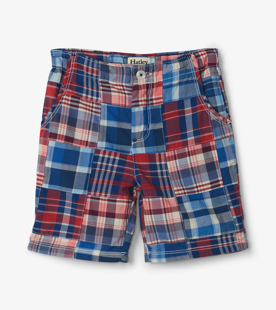 HATLEY BOYS PLAID SHORT