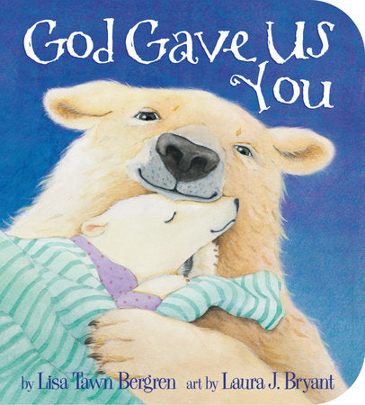 Penguin House, GOD GAVE US YOU BOARD BOOK - James & Olive