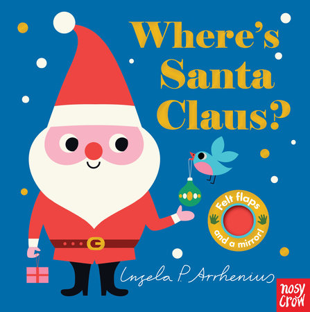 WHERE'S SANTA CLAUS? BOOK