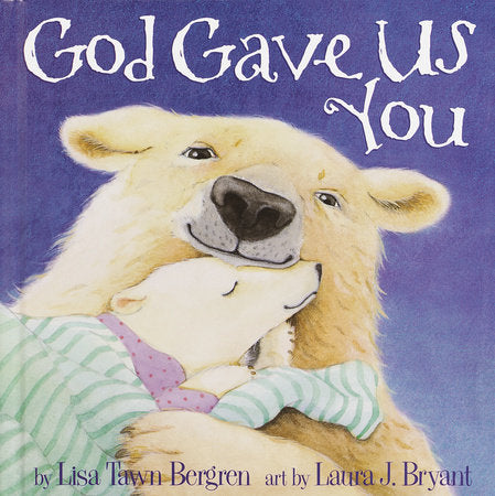 Penguin House, GOD GAVE US YOU HARDCOVER BOOK - James & Olive