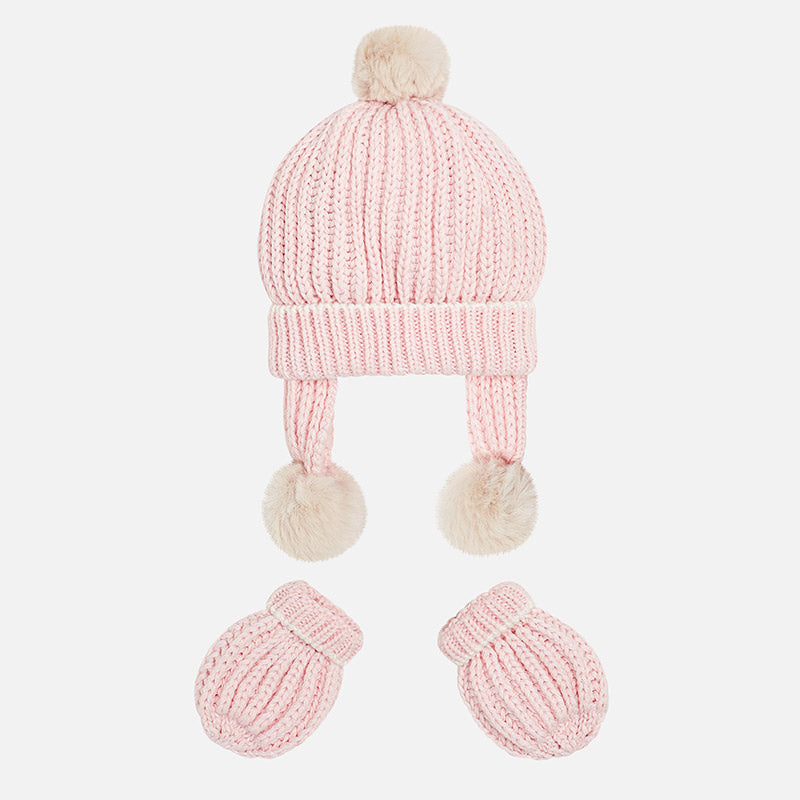 Mayoral, MAYORAL BABY HAT AND MITTENS SET - James & Olive