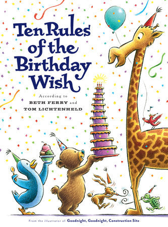 TEN RULES OF THE BIRTHDAY WISH HARDCOVER BOOK