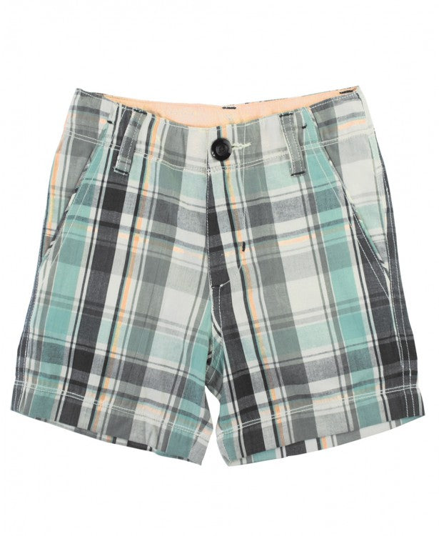 RUGGED BUTTS DAVID PLAID SHORTS