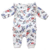 Kapital K, KAPITAL K BABY GIRLS COVERALL WITH POMPOMS - James & Olive