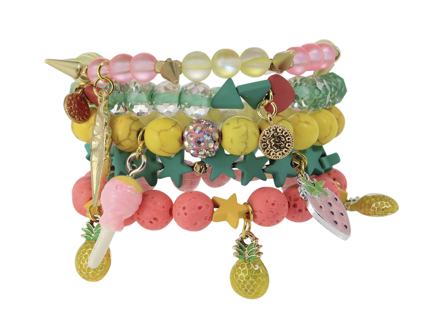 ERMISH GEM JAMS STACKABLE BRACELETS