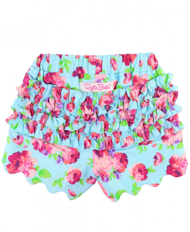 RUFFLE BUTTS SCALLOPED SHORTS